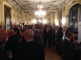 The embassy function was packed